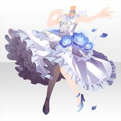 Character Inspiration, Character Design, Anime Dress, Cocoppa Play, Dress Sketches, Drawing Base, Anime Hair, Cute Chibi, Drawing Clothes
