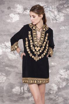 Visitá la nueva colección Invierno 16 en Rapsodia.com > Tunica Drew Eldert