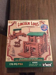 Lincoln logs - http://hobbies-toys.goshoppins.com/building-toys/lincoln-logs/