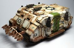 Pre heresy death guard rhino