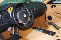 Left hand Drive Ferrari S430 F1 Spider