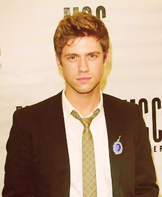 Aaron Tveit...we all remember how he looked good even as he fell out of a window! #talent #browneyedblondhairedboy