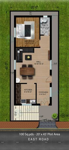 100 Sq Ft Bedroom Layout Lovely 100 Sq Ft House Plans Hyderabad Home Design 2bhk House Plan, 3d House Plans, Indian House Plans, Home Design Floor Plans, Duplex House Plans, Small House Plans, Duplex House Design, House Front Design, Small House Design