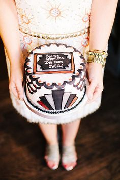 Photography by katiestoops.com  Read more - http://www.stylemepretty.com/2013/07/16/great-gatsby-birthday-party-get-the-look/