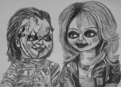 Bride of Chucky by Lisa Cherie's Art