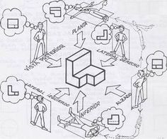 º de no leídos) - - Yahoo Mail Isometric Sketch, Isometric Drawing Exercises, Orthographic Drawing, Architecture Drawing Sketchbooks, Interesting Drawings, Fractal Geometry, Object Drawing, Industrial Design Sketch, House Drawing