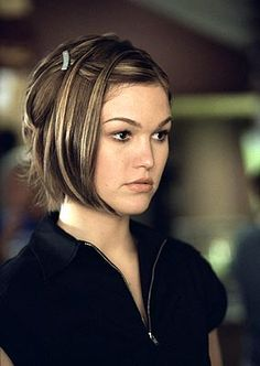 Julia Stiles in The Prince and Me. Such a cute style.