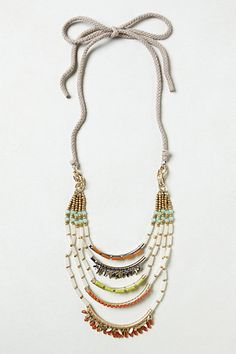 Corallina Ladder Necklace #anthropologie