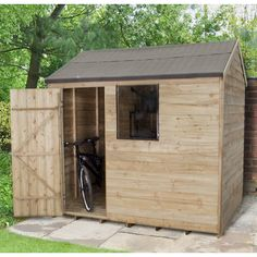 Found it at Wayfair.co.uk - 8 x 6 Wooden Storage Shed