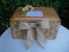 basket for the wedding cards