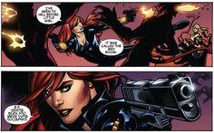 "Black Widow  | ""and I killed all those who put me there."""
