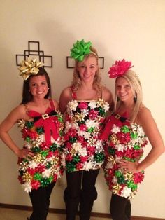 ugly christmas sweater bow dress girls