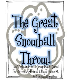 First Grade Wow: Thank You!! And Headline News! Kids caught throwing snowballs in class!