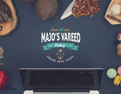 """Check out new work on my @Behance portfolio: """"Majo's Vareed Bakery : Branding"""" http://be.net/gallery/40196445/Majos-Vareed-Bakery-Branding"""