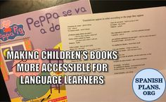 As we talked about in our previous post, children's book are usually not the best type of book for a second language classroom, although there is one that we do like. Most of the words are no…