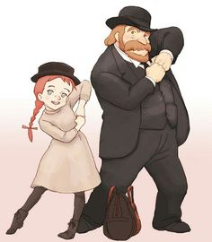 Anne of Green Gables Anne and Matthew Tomorrow Is A New Day, Novel Characters, Masterpiece Theater, Anne Shirley, Old Anime, Sketchbook Inspiration, Animated Cartoons, Anime Art Girl, Children's Book Illustration