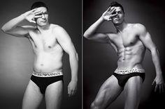 Armani, Homem Normal x Cristiano Ronaldo
