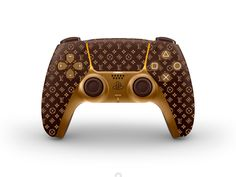 New concept designs for the DualSense Louis Vuitton by Nick Chukreev on Dribbble Ps4 Controller Custom, Gamecube Controller, Ps4 Game Console, Computer Gaming Room, Custom Consoles, Cute Baby Dogs, Disney Pop, Video Game Rooms, Playstation 5
