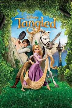 "Posters USA - Disney Classics Tangled Poster - REL006 (16"" x 24"" (41cm x 61cm))"