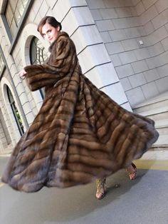 Emma Watson in sable fur by FurHugo