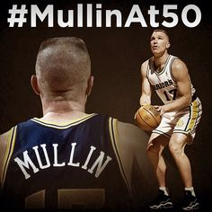 Gymrat, All-Star, Olympian, Hall-of-Famer & more than anything - WARRIOR. Happy 50th B-Day Chris Mullin! #MullinAt50