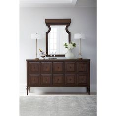 Villa Couture Marco Buffet in Mottled Walnut - 510-11-05 - Dining Room - Stanley Furniture