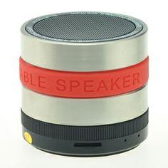 Camera Lens Shape Bluetooth Speaker