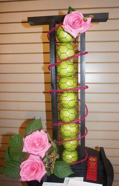 New Garden Club Journal A Duo floral design flower arrangement ... on tulip garden designs, garden club stretch design, garden plants and flowers, garden design ideas, garden club logos, garden flowers perennials, garden club plant sale,