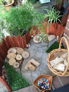Creating Outdoor Playscapes on a Budget – natural playground ideas