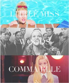 Elle woods, woods comma Elle! #legallyblonde #baylortheatre