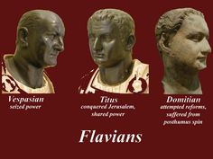the flavian dynasty - Google Search