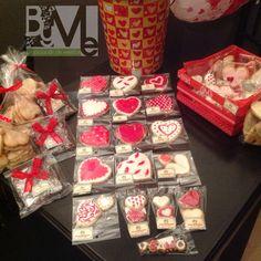 Galletas Decoradas, Hojaldres de Corazon, Brownies
