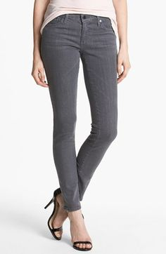AG Super Skinny Jeans (Stoneway) available at #Nordstrom
