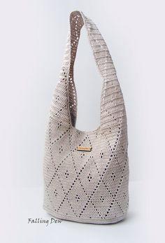 Handbag/Purse, Summer Bag, Beach Handbag/ Woman's Handbag, Crochet Bag, Gifts For Her on Etsy, £42.00