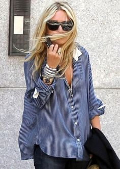 Love this shirt on Ashley Olsen