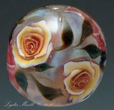 Stunning ROSE bead!!
