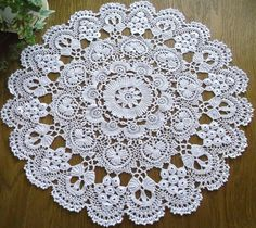 Check out our ornaments selection for the very best in unique or custom, handmade pieces from our shops. Crochet Potholders, Crochet Doily Patterns, Crochet Mandala, Thread Crochet, Filet Crochet, Irish Crochet, Crochet Motif, Crochet Doilies, Crochet Lace