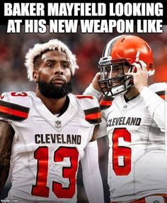 c897d62b The Giants have agreed to trade OBJ to Cleveland, where he'll join  quarterback Baker Mayfield and college teammate and fellow receiver Jarvis  Landry.