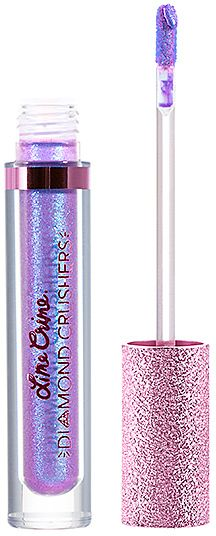 Lime Crime Diamond Crushers Lip Topper in Purple.