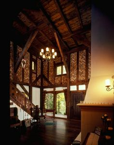 Interior of thornwood castle where rose red by stephen for Inside french film