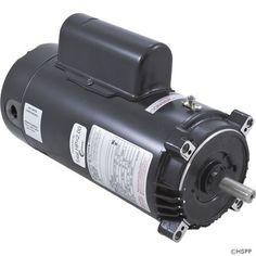 Motor, Century, 0.5hp, 115v/230v, 1-Spd, 48fr, C-Face Key, EE