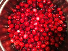 Thanksgiving cranberries!