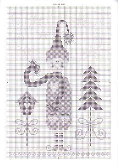 ru / Photo # 46 - doing cardio - mornela Santa Cross Stitch, Cross Stitch Charts, Cross Stitch Designs, Cross Stitch Patterns, Cross Stitch Christmas Ornaments, Christmas Cross, Cross Stitching, Cross Stitch Embroidery, Needlework