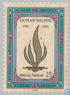 1988 United Nations - New York - Human Rights