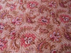 Vintage French Quilt/Boutis Hand Stitched. by JacquelineMcEwan, €80.00