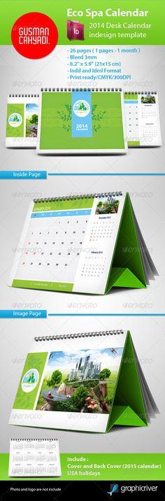 Eco Spa Calendar 2014