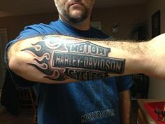 harley davidson tatttoos   Harley Davidson – Tattoo Picture at CheckoutMyInk.com