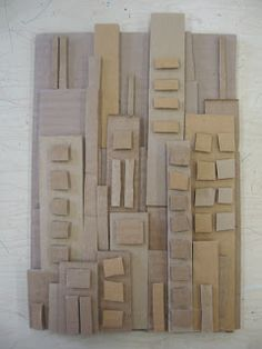 Cardboard Cityscape | PSD Art Gallery