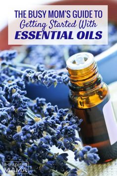 Overwhelmed by the idea (or cost!) of all of those essential oils?  Check this out --> The Busy Mom's Guide to Getting Started with Essential Oils from B-Inspired Mama