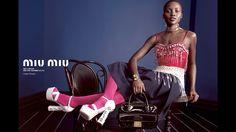 Model: Lupita Nyong'o Photographers: Inez